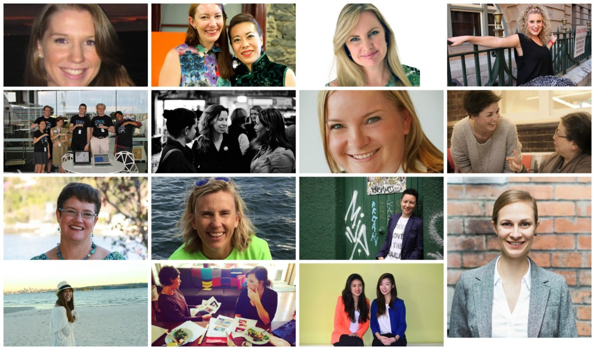 15 amazing women making ideas happen in Australia